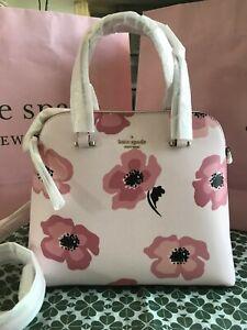 Kate Spade maise floating poppies medium dome satchel wkr00501 Multi