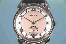 PARA Art Deco Armbanduhr Handaufzug TOP Gold Double