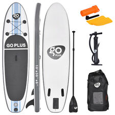 10' Inflatable Stand Up Paddle Board SUP Kayak Surfboard Adjustable Paddle W/Bag