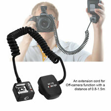 New TTL Off-Camera Flash Sync Extension Cord for Nikon Hot Shoe 0.8m Accessories