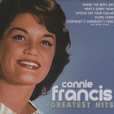 NEW CONNIE FRANCIS - 12 Greatest Hits - CD