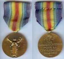 Médaille - Interalliée 1914/1918 Monnaie de Paris BR