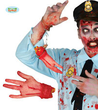 Horreur Coupée Coupé Faux Main De L'homme Partie Du Corps Halloween Gore