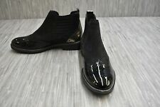 Paul Green Jordy 1124 Leather Ankle Boots, Women's Size 9 / AT 6.5, Black NEW