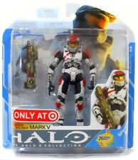 """Target exclusive Halo 3 Series 7 """"White/Red Mark V"""" Action Figure, Xbox 360 MINT"""