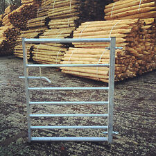 More details for 7 bar galvanised metal field farm equestrian entrance security gate 3ft-12ft