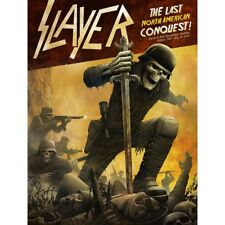 Slayer Poster Gilford A/P Xx/25 Limited Edition July 26 2018 S/N