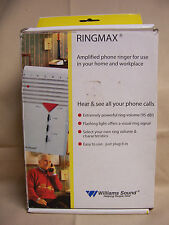 Bellman & Symfon RINGMAX 1010-0091 Amplified Phone Ringer Williams Sound hearing