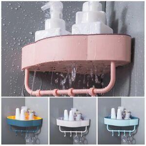 Rack Storage Bathroom Shelf Kitchen Organizer Holder Punch-Free Shower Storage