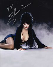 Elvira Signed 8x10 Picture Actor Mistress of Darkness Cassandra Peterson Auto