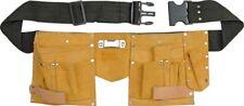 Werkzeuggürtel Werkzeug- Gürteltasche Handwerkergürtel  Leder Umhängetasche