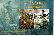 MODERN GEMS - Maldives - Jules Verne Centenary - Sheet Of 4 - MNH