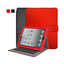 Case Logic Lightweight Leather Folio Case for iPad 4, iPad 3, iPad 2 (Red/Black)