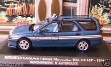 RENAULT LAGUNA I BREAK NEVADA RXE 16V 1998 GENDARMERIE 1/43 UNIVERSAL HOBBIES