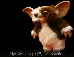 Officially Licensed Gizmo Puppet Prop Mogwai Horror Gremlins Scary Gremlin Cute