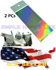 ��2pcs For Gundam Modify Mg Pg Hg Gundam Multi-Purpose Twinkling Sticker Usa��
