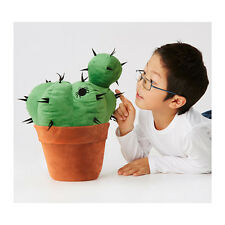 IKEA HEMMAHOS SOFT TOY CACTUS GREEN PLUSH STUFFED PLANT ANIMAL *PERFECT GIFT*