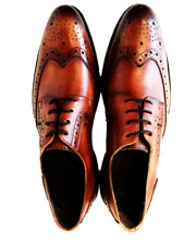 Men's Dress Shoes Derby Goodyear Handcrafted Patina Argentinian Leather