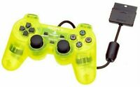 SONY PlayStation 2 PS2 DualShock 2 Official Controller Lemon Yellow SCPH-10010