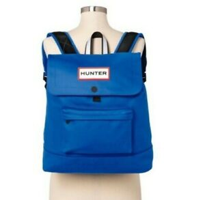 HUNTER For Target BLUE LARGE Backpack 20th Anniversary XXO-SOLD OUT! NWT