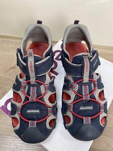 Pediped Flex Canyon Navy/red boys sandals, size 3-3.5 UK, 36 EU