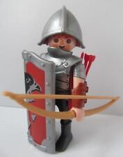 Playmobil Castillo figura: Falcon Archer Caballero con arco y flechas (pelo rojo) Nuevo