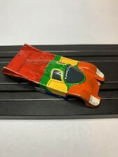 AFX #14 GOOD YEAR PORSCHE TURBO CHASSIS HO SLOT CAR Body, Runner Or Parts