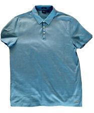 HUGO BOSS Mens Mercerized cotton Slim Fit polo short sleeve Medium