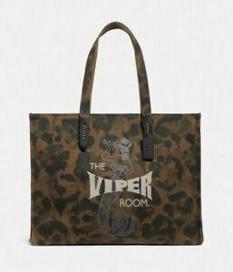 Coach Viper Room Tote 42 With Wild Beast Print NEW WITH TAGS