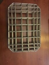 Restaurant Supplies Used Good 12 Half Pan Size Wire Rack Inserts 10 X 7 Qty 3