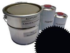 1 Liter Set 2K Epoxid Grundierung/Füller RAL 9005 Schwarz Autolack EP Lackpoint