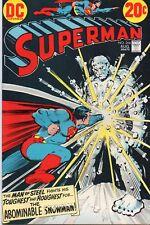 DC Superman #266 (Aug. 1973) Mid/High Grade