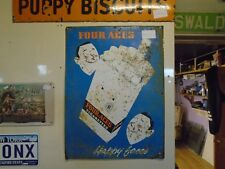 vintage  sign four aces cigs rare