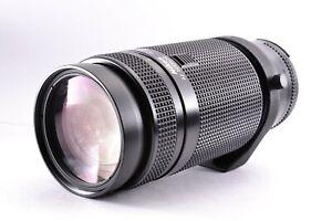 Exc4 Nikon Zoom Nikkor AF 75-300mm f/4.5-5.6 Lens From JAPAN SLR Camera F Mount