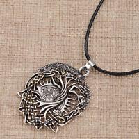 Vintage Halskette Halsschmuck Baum von Leben Viking Wikinger Unisex Geschenk Neu
