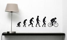 Radsport Evolution Rennrad Sport Rad Fahrrad Radfahren Wandaufkleber WandTattoo