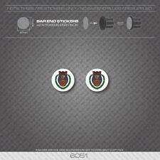 6051 - Hetchins Bicycle Handlebar Bar End Plug Stickers - Decals