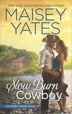 Slow Burn Cowboy: A Western Romance Novel [Copper Ridge]