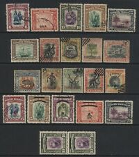 North Borneo Collection 22 Ovprt Stamps Used