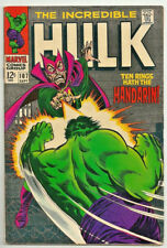 Incredible Hulk #107 1968 VF The Mandarin