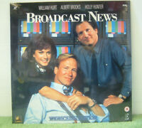 Broadcast News (1987) PAL Laser Disc, Romantic Comedy Film William Hurt [EE 1126
