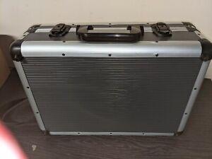 "Macallister 18"" aluminium tool box organiser case"