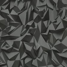 Effektvolle Vlies Tapete P+S TIMES 42097-50 3D Objekte grau silber Metallic