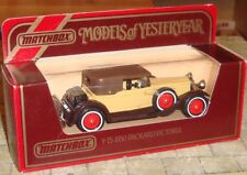 MATCHBOX - MODELS OF YESTERYEAR - 1930 PACKARD VICTORIA CAR - Y-15 - BOXED -1:46