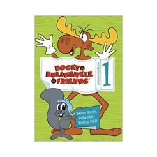 The Rocky  Bullwinkle Show - Complete Season 1 (DVD, 2003, 4-Disc Set)