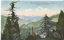 America Postcard - Middle Fork, Kings River Canyon, California  U244