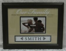 New Our Family Photo Frame Includes Letters to Personalise With Your Own Name