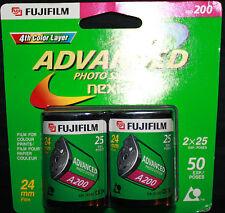 FUJIFILM Advanced Photo System Nexia 2 x 25 Exp. 24mm Film A200 Exp 2003 - 08