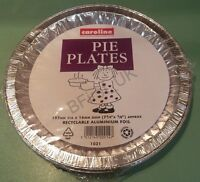24 Pie Plates Flan Dishes Oven Tin Foil Takeaway Food Container Disposable 1021