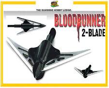 6 X Broadheads NAP Bloodrunner 2 Blade 100 Grain Broad Head For Crossbows NEW UK